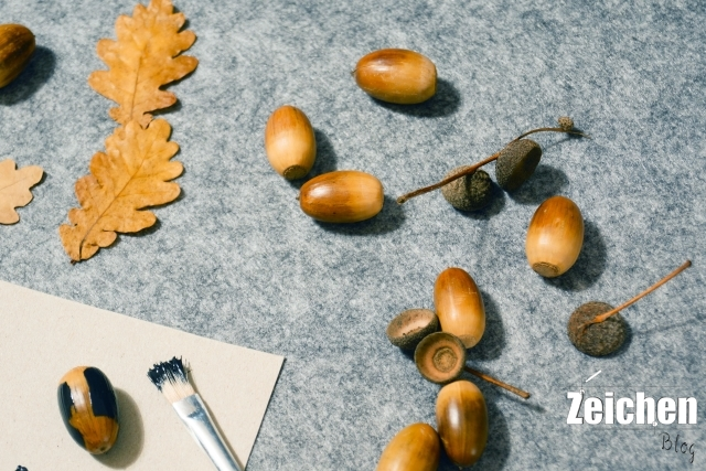 DIY-Eicheln-Herbst