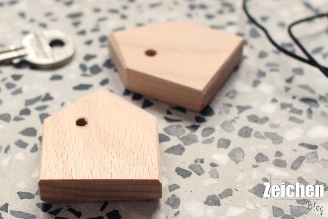 DIY-Schlüsselanhänger-Holz