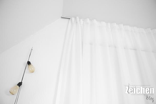 Gardine-Vorhang-Tür