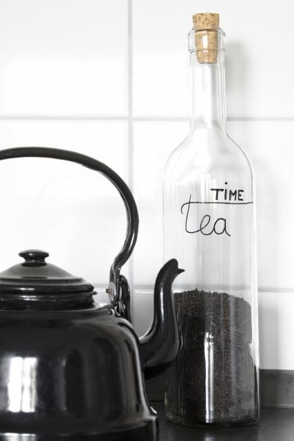 DIY-Lettering-Glasflasche-Küche